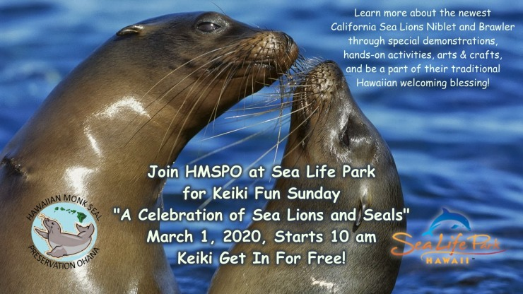 sea life park event announcement